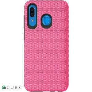 Чехол-накладка TOTO Triangle TPU+PC Case Samsung Galaxy A20/A30 Pink