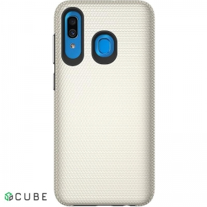 Чехол-накладка TOTO Triangle TPU+PC Case Samsung Galaxy A20/A30 Gold