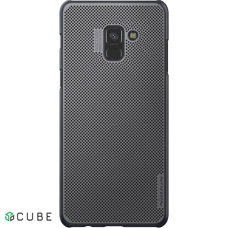 Чехол-накладка Nillkin Air Case Samsung Galaxy A8 Plus (SM-A730) Black