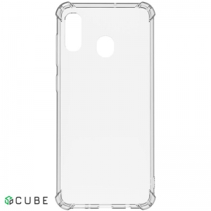 Чехол-накладка TOTO Shockproof TPU 1mm Case Samsung Galaxy A20/A30 Transparent