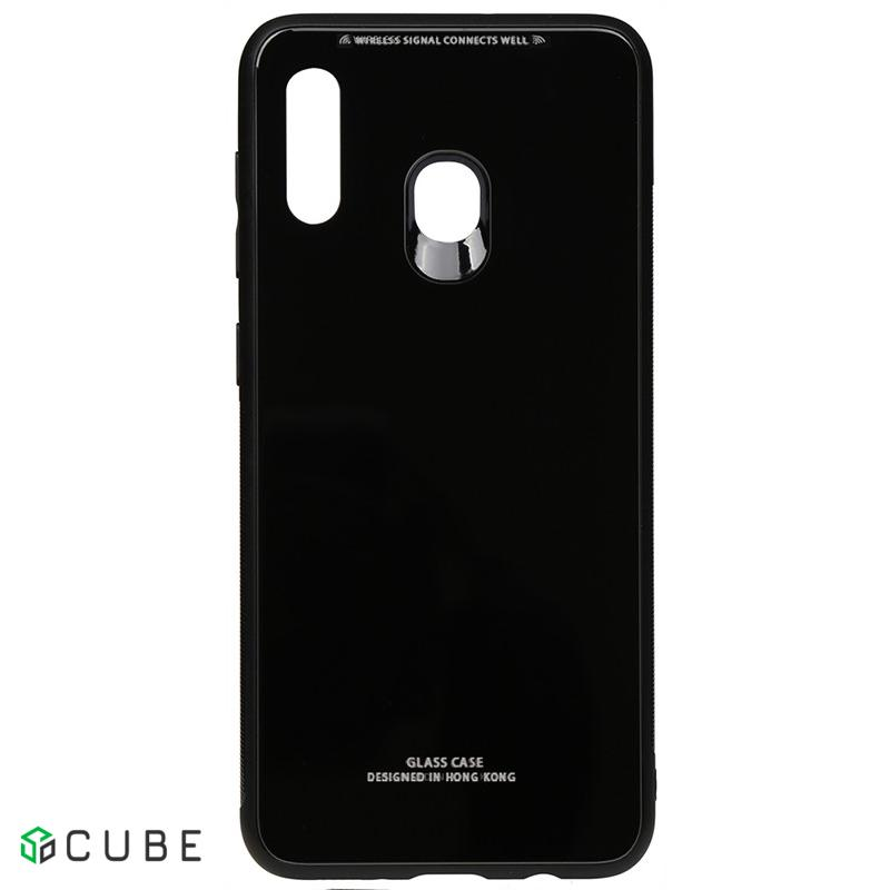 Чехол-накладка TOTO Pure Glass Case Samsung Galaxy A20/A30 Black