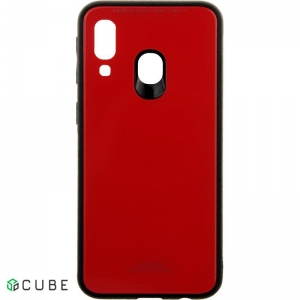 Чехол-накладка TOTO Pure Glass Case Samsung Galaxy A40 Red