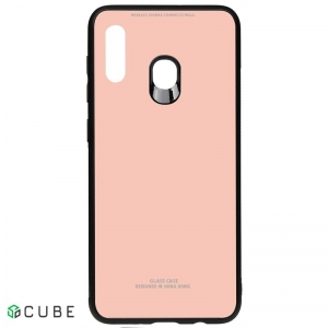 Чехол-накладка TOTO Pure Glass Case Samsung Galaxy A20/A30 Pink