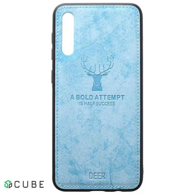Чехол-накладка TOTO Deer Shell With Leather Effect Case Samsung Galaxy A40 Blue
