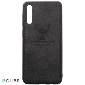 Чехол-накладка TOTO Deer Shell With Leather Effect Case Samsung Galaxy A40 Black