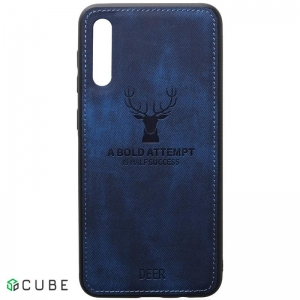 Чехол-накладка TOTO Deer Shell With Leather Effect Case Samsung Galaxy A40 Dark Blue