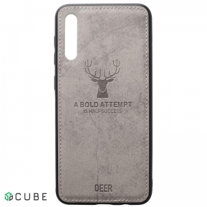Чехол-накладка TOTO Deer Shell With Leather Effect Case Samsung Galaxy A40 Grey