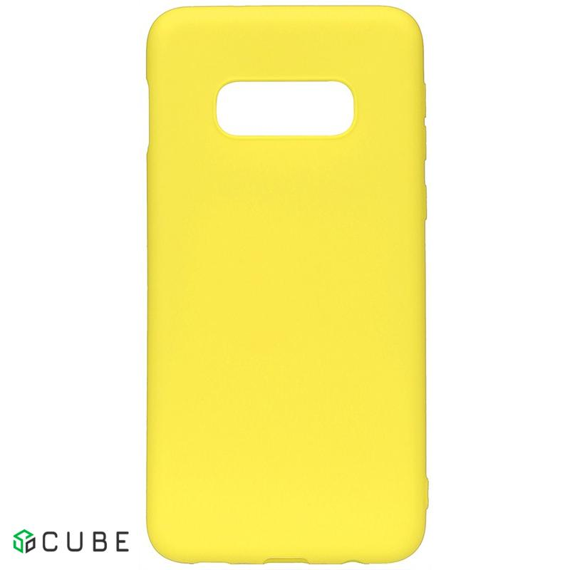Чехол-накладка TOTO 1mm Matt TPU Case Samsung Galaxy S10e Yellow