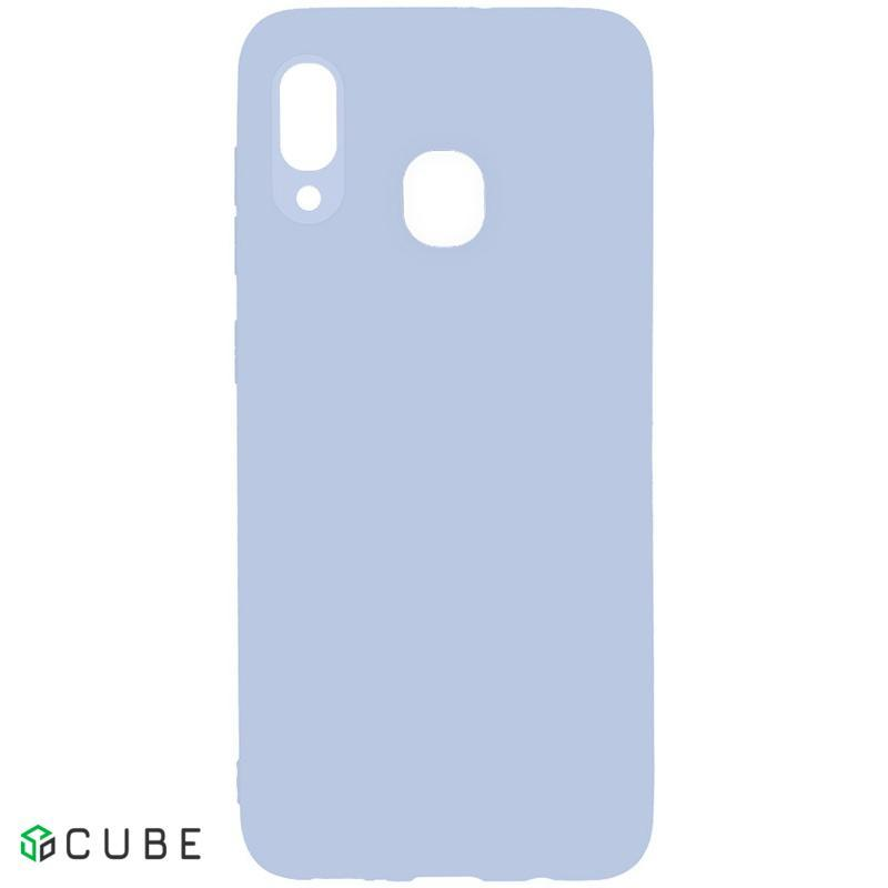 Чехол-накладка TOTO 1mm Matt TPU Case Samsung Galaxy A20/A30 Lilac