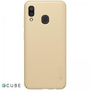 Чехол-накладка Nillkin Super Frosted Shield Case Samsung A30 Gold
