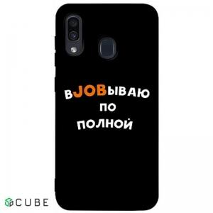 Чехол-накладка TOTO Matt TPU 2mm Print Case Samsung Galaxy A20/A30 #21 Job Black