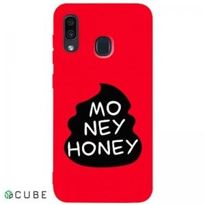 Чехол-накладка TOTO Matt TPU 2mm Print Case Samsung Galaxy A20/A30 #43 Moneyhoney Red