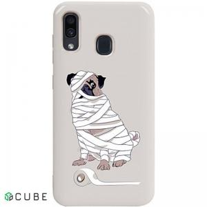 Чехол-накладка TOTO Pure TPU 2mm Print Case Samsung Galaxy A20/A30 #15 Dog Mumiya Stone