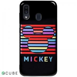 Чехол-накладка TOTO Pure TPU 2mm Print Case Samsung Galaxy A20/A30 #49 Mickey Black