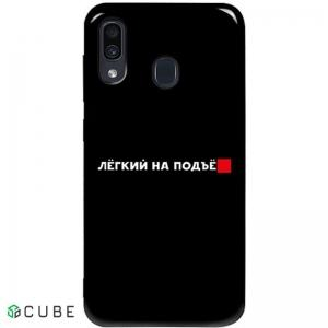 Чехол-накладка TOTO Pure TPU 2mm Print Case Samsung Galaxy A20/A30 #63 Legkipod Black