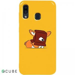 Чехол-накладка TOTO Pure TPU 2mm Print Case Samsung Galaxy A20/A30 #31 Korgi Yellow