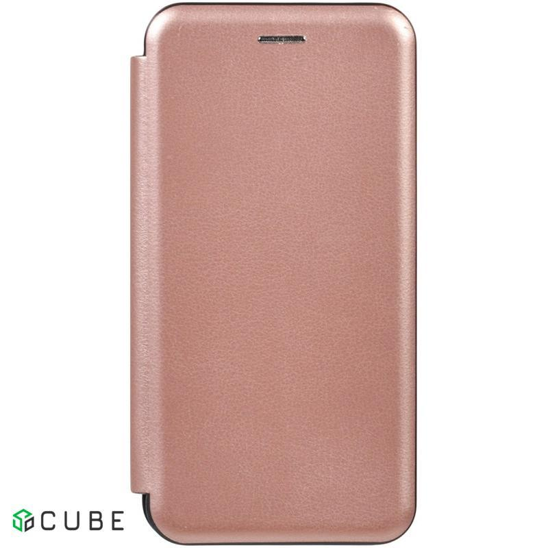Чехол-книжка TOTO Book Rounded Leather Case Samsung Galaxy A10s Rose Gold