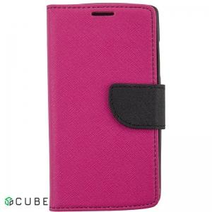 Чехол-книжка TOTO Book Cover Mercury Meizu M3S Rose red