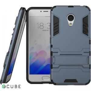 Чехол-накладка TOTO TPU+PC Shockproof case Meizu M3S Grey
