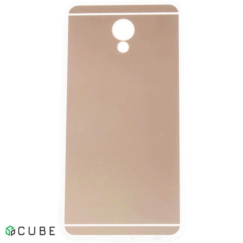 Чехол-накладка TOTO TPU case Mirror soft Meizu M5s Rose Gold