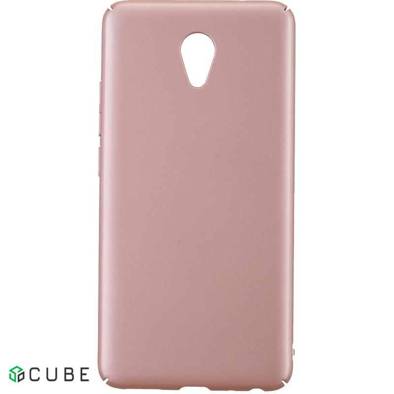Чехол-накладка TOTO PC case Rubberized Full Cover Meizu M5 Pink
