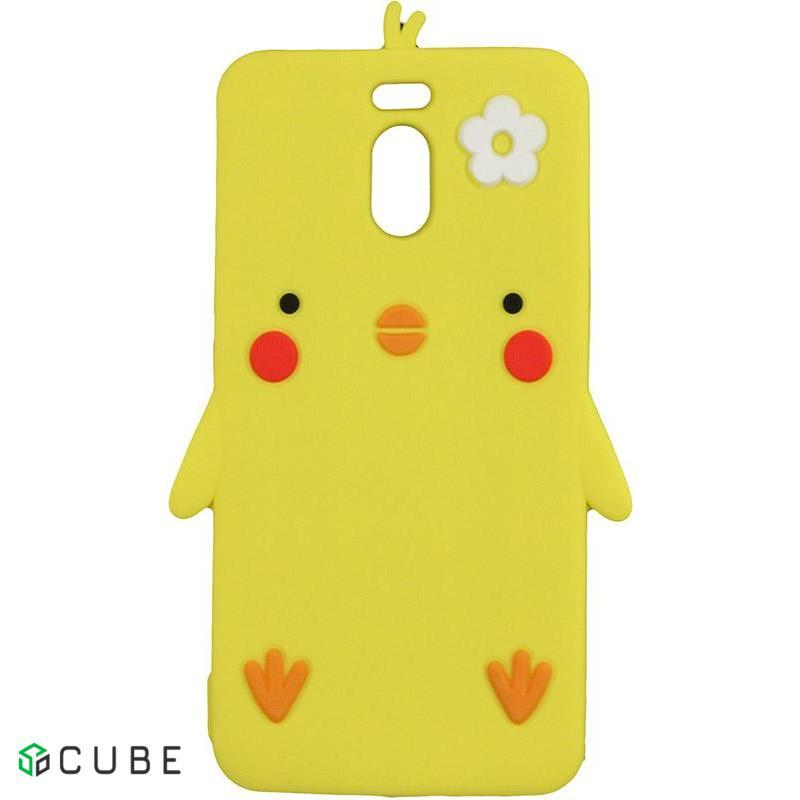 Чехол-накладка TOTO Silicon Сartoon Network Chicken Case Meizu M6 Note Yellow