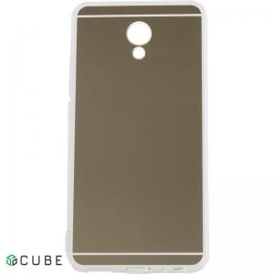 Чехол-накладка TOTO TPU case Mirror soft Meizu M5s Gold