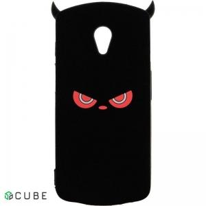 Чехол-накладка TOTO Silicon Сartoon Network Devil Case Meizu M6S Black
