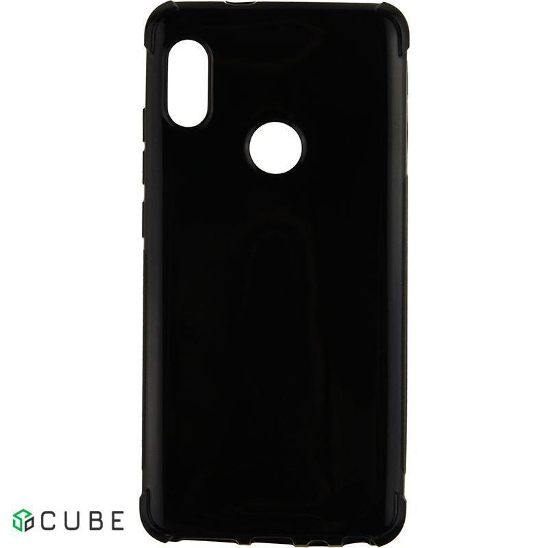 Чехол-накладка TOTO Shockproof Crystal TPU Case Xiaomi Redmi Note 5 Black