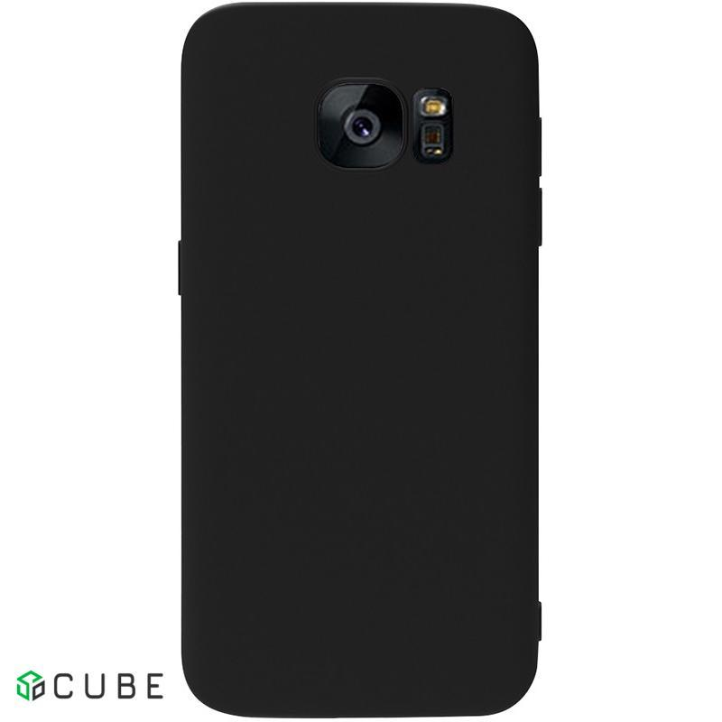 Чехол-накладка TOTO 1mm Matt TPU Case Samsung Galaxy S7 Black