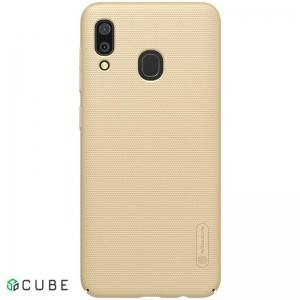 Чехол-накладка Nillkin Super Frosted Shield Samsung Galaxy A30 (A305) Gold