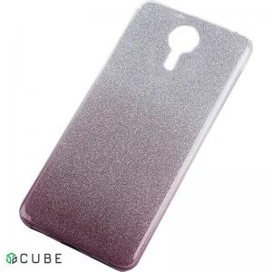 Чехол-накладка TOTO TPU Case Rose series Gradient Meizu M5s Black