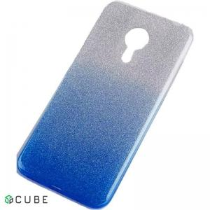 Чехол-накладка TOTO TPU Case Rose series Gradient Meizu M5s Blue