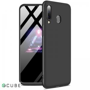 Чехол-накладка GKK 3 in 1 Hard PC Case Samsung Galaxy A20/A30 Black