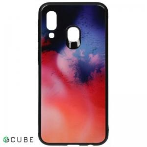 Чехол-накладка TOTO Print Glass Space Case Samsung Galaxy A40 Candy
