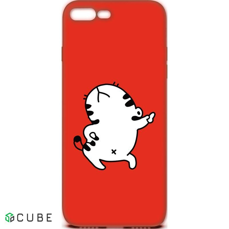 Чехол-накладка TOTO Cartoon Soft Silicone TPU Case Apple iPhone 7 Plus/8 Plus Cat Red