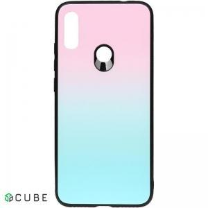 Чехол-накладка TOTO Gradient Glass Case Samsung Galaxy A20/A30 Turquoise