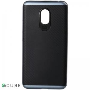 Чехол-накладка DUZHI Hybrid 2 in 1 Mobile Phone Case Meizu m3s Grey