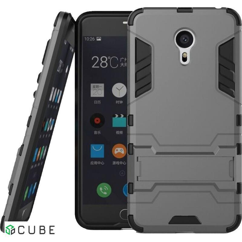 Чехол-накладка TOTO TPU+PC Shockproof case Meizu M3 Note Black