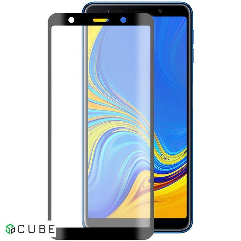 Защитное стекло TOTO 5D Full Cover Tempered Glass Samsung Galaxy A7 2018 Black