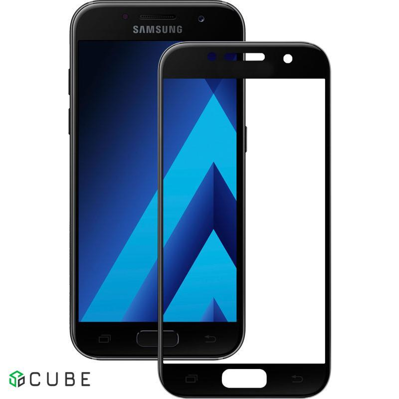 Защитное стекло Mocolo 2.5D Full Cover Tempered Glass Samsung Galaxy A3 2017 (A320) Black