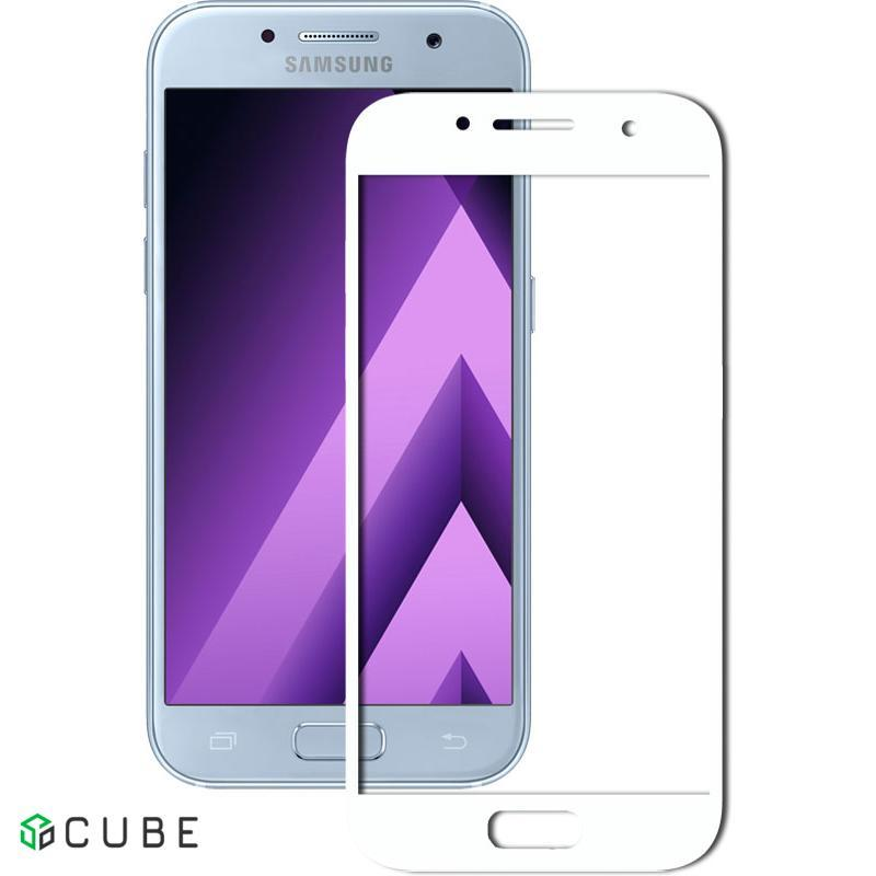 Защитное стекло Mocolo 2.5D Full Cover Tempered Glass Samsung Galaxy A5 2017 (A520) White