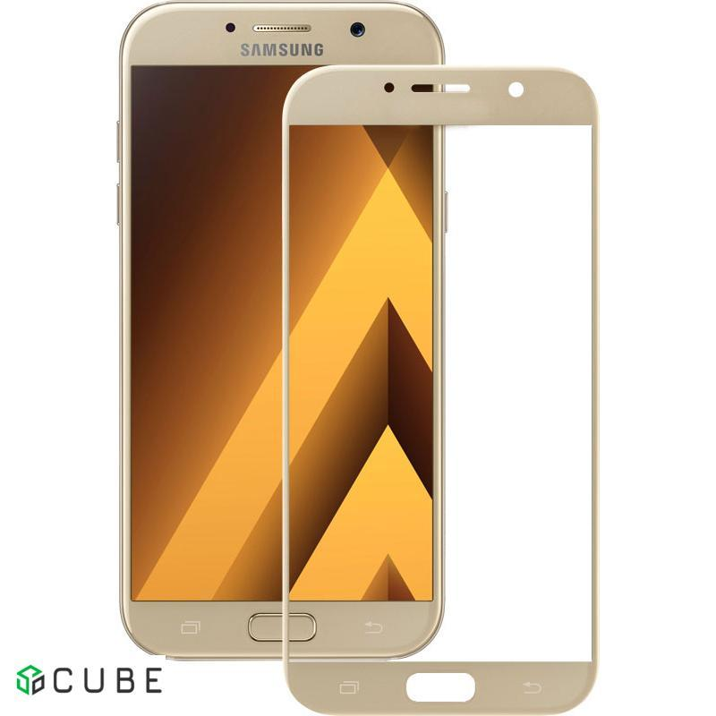 Защитное стекло Mocolo 2.5D Full Cover Tempered Glass Samsung Galaxy A5 2017 (A520) Gold