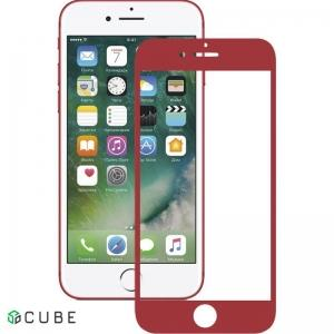 Защитное стекло Mocolo 3D Full Cover Tempered Glass iPhone 7/8/SE 2020 Red