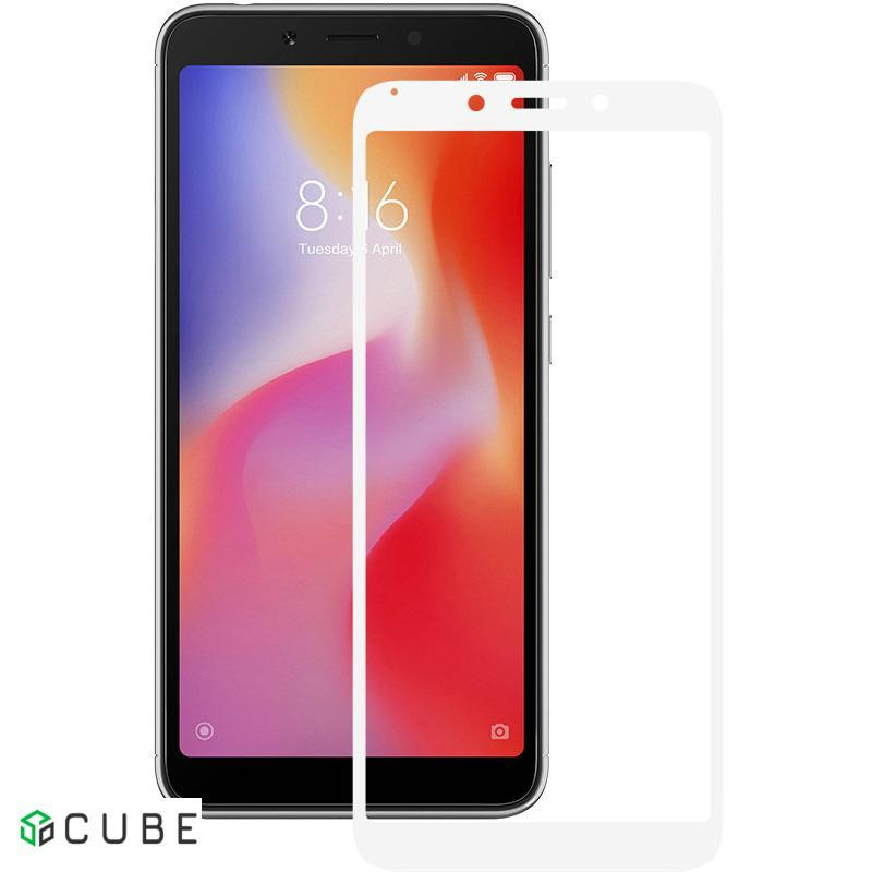 Защитное стекло Mocolo 2.5D Full Cover Tempered Glass Xiaomi Redmi 6/6A White
