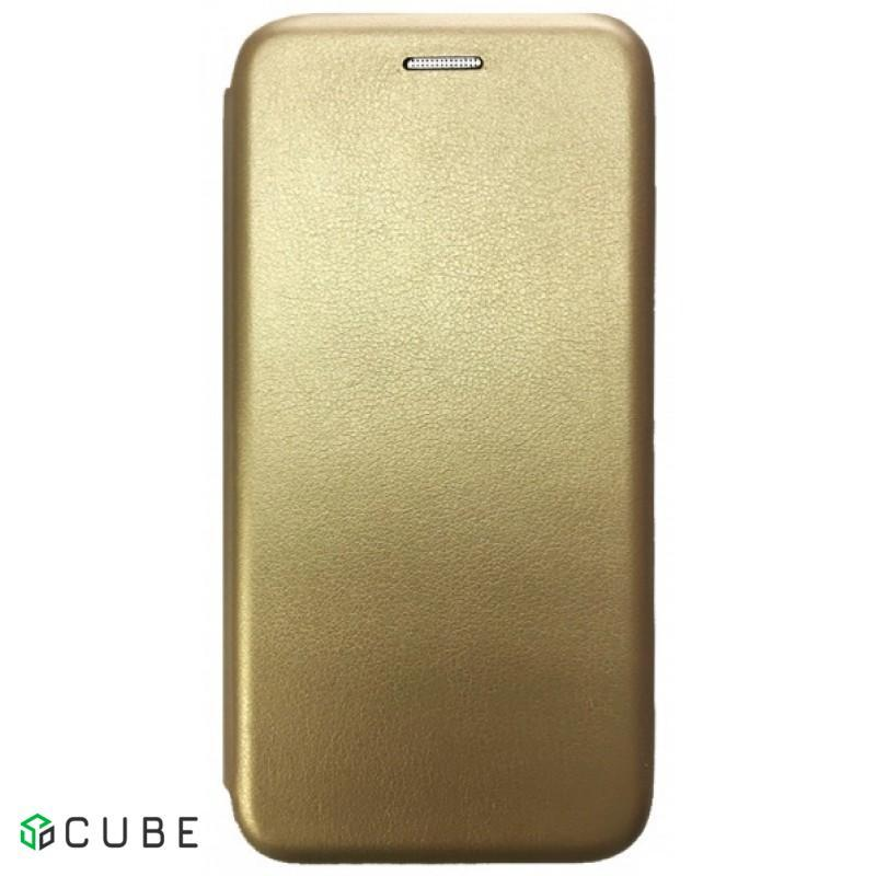 Чехол-книжка Level для Meizu M6 Note Gold