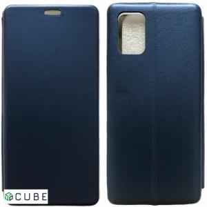 Чехол-книжка Level for Samsung A51 (A515) Blue