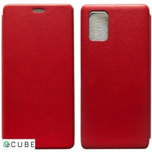 Чехол-книжка Level for Samsung A51 (A515) Red