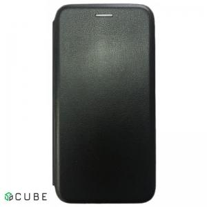 Чехол-книжка Level for Samsung A8 Plus 2018 (A730) Black