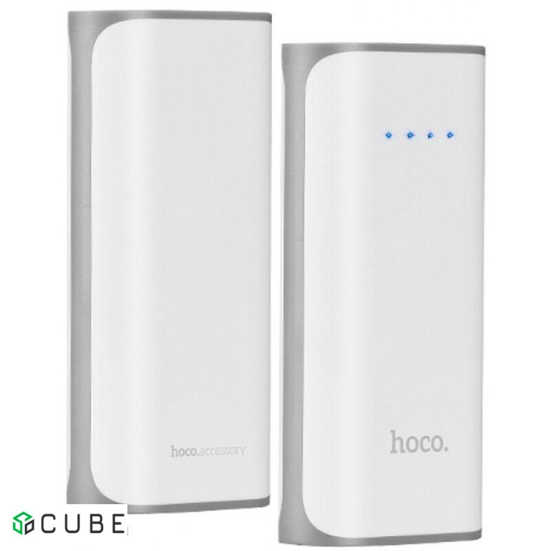 Power Bank Hoco B21 Tiny Cancave 5200 mAh White
